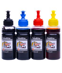 Cheap Multipack dye ink refill replaces HP Photosmart B110e