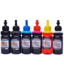 Cheap Multipack dye ink refill replaces Canon Bubble Jet I9100