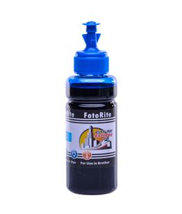 Cheap Cyan dye ink refill replaces Brother DCP-195 - LC-1100C