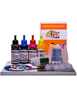 Dye Sublimation Ciss ink system for Epson SX425W printer