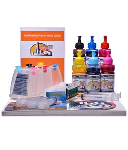 Dye Sublimation Ciss ink system for Epson Stylus R1400 printer