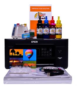 Sublimation printer package for Epson XP-3105 printer