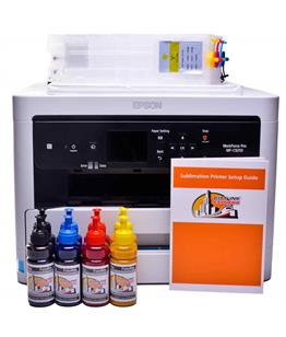 Sublimation printer package for Epson WF-C5210DW printer