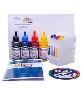 Refillable Sublimation ink cartridge for Sawgrass SG500 printer