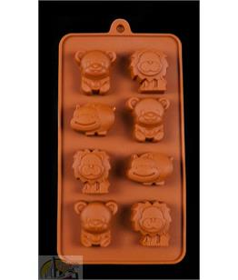 Jungle Animal Silicone Mould C8
